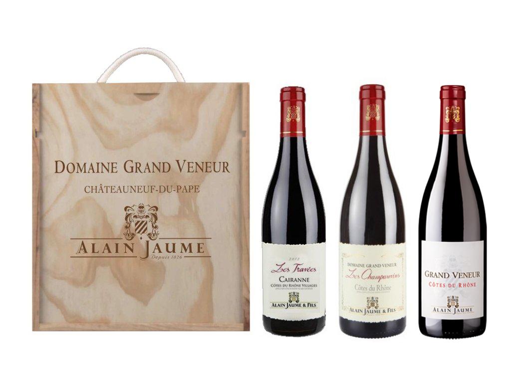 Alain Jaume Sada 3 vín - Star of Cotes du Rhone, 3x0,75l