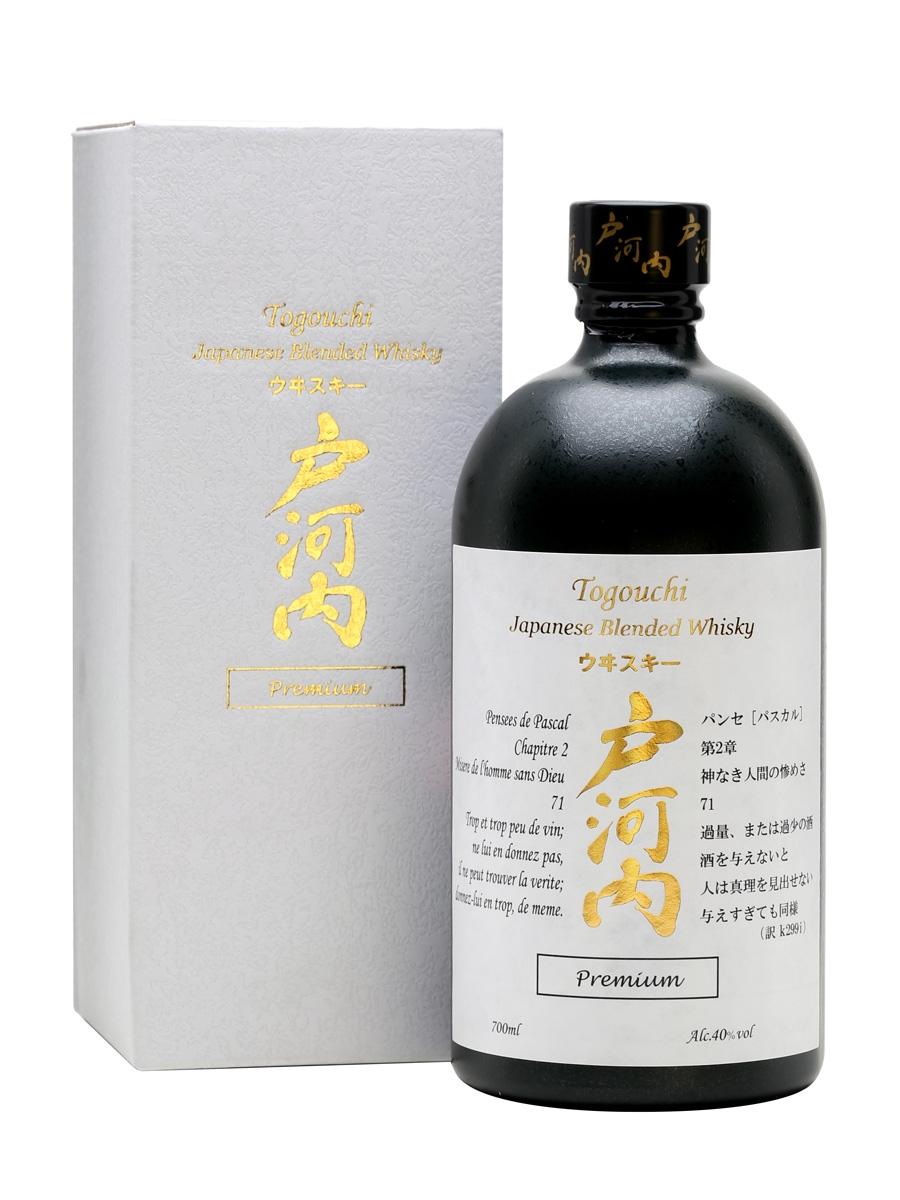 Togouchi Premium Whisky, Gift Box, 40%, 0,7l