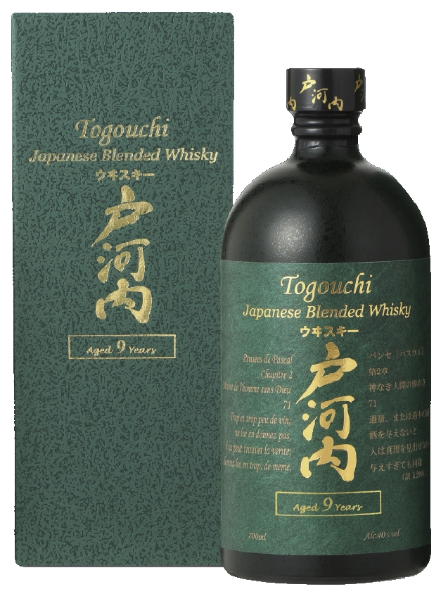 Togouchi 9 YO, Gift box, 40%, 0,7l