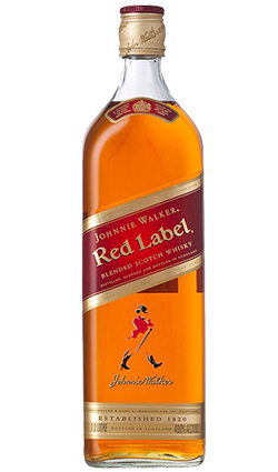 Johnnie Walker Red Label, 40%, 1l