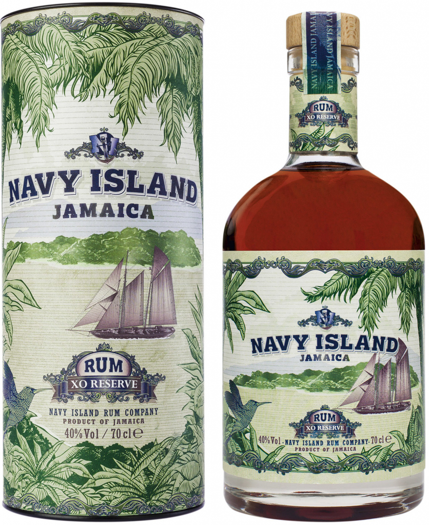 Navy Island XO Reserve Rum + Tuba, 40%, 0,7l