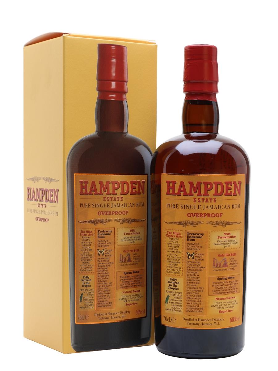 Hampden Estate Overproof, 60%, 0,7l