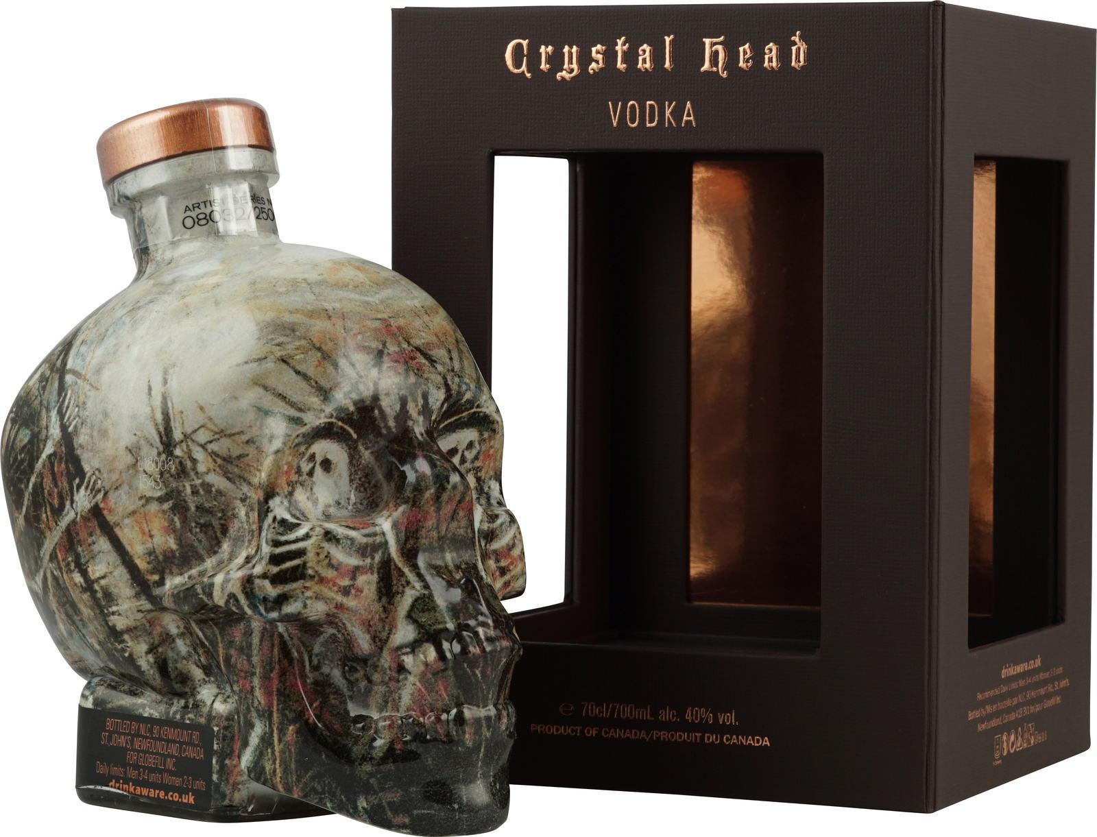 Crystal Head John Alexander Artist Series, Gift Box, 40%, 0,7l