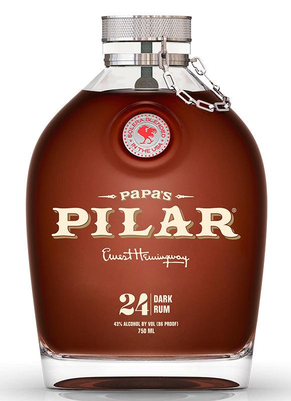 Papa's Pilar Dark rum 24 YO, 43%, 0,7l