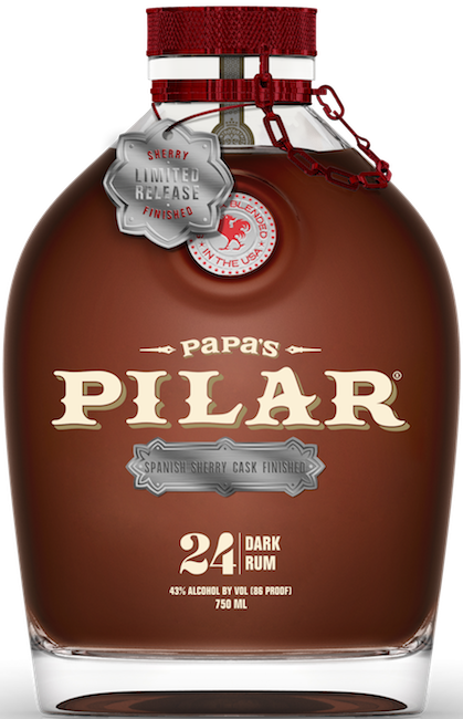 Papa's Pilar Dark rum Sherry Cask Finished Limited Edition, 43%, 0,7l