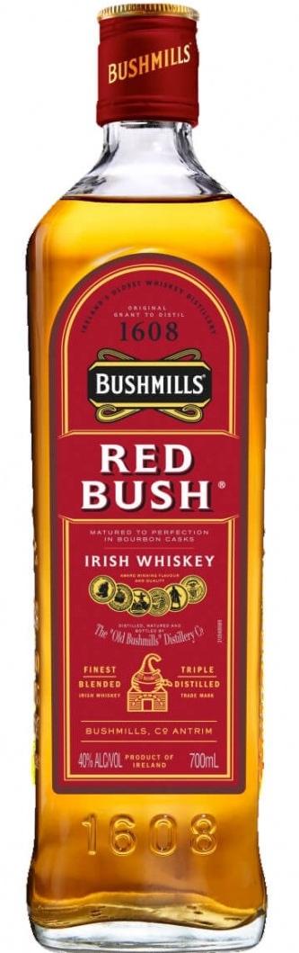 Bushmills Red Bush, 40%, 0,7l