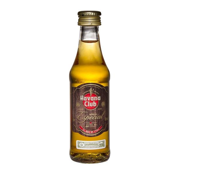 Havana Club Aňejo Especial, miniatura, 40%, 0,05l