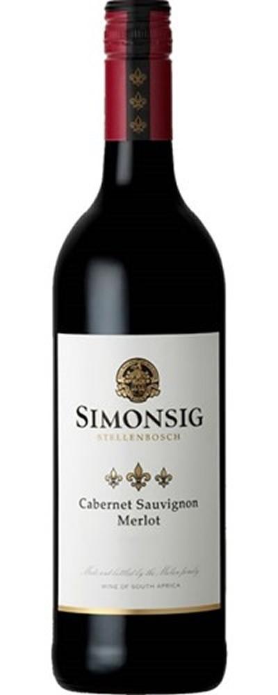 Simonsig Wine Estate Cabernet Sauvignon-Merlot 2017/18, Simonsig, 0,75l