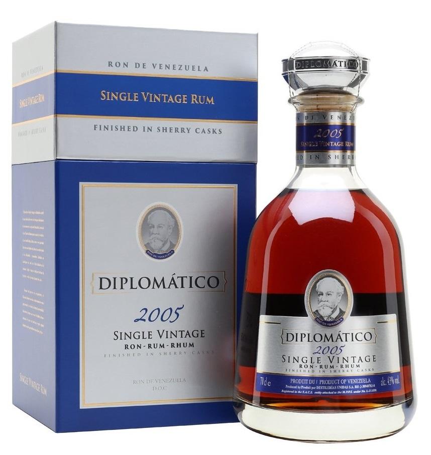 Fotografie Diplomatico Single Vintage 2005, 0,7l