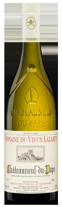 Châteauneuf-du-Pape - Domaine du Vieux Lazaret Blanc 2017, Jerome Quiot, 0,75l