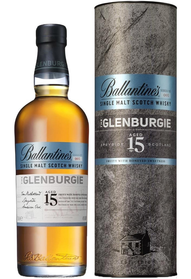 Ballantines The Glenburgie 15 YO, 40%, 0,7l