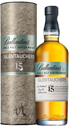 Ballantines The Glentauchers 15 YO, 40%, 0,7l