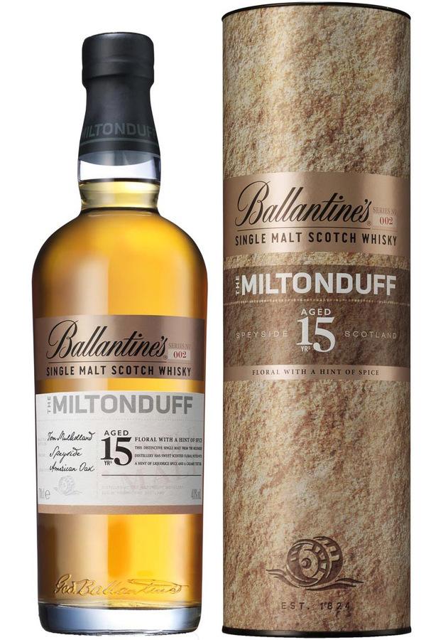 Ballantines The Miltonduff 15 YO, 40%, 0,7l