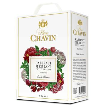 Cabernet Merlot, bag in box, Pierre Chavin, 3l
