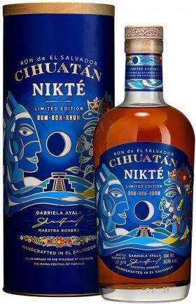 Ron Cihuatán Cihuatán Nikté Limited Edition + tuba, 47,5%, 0,7l