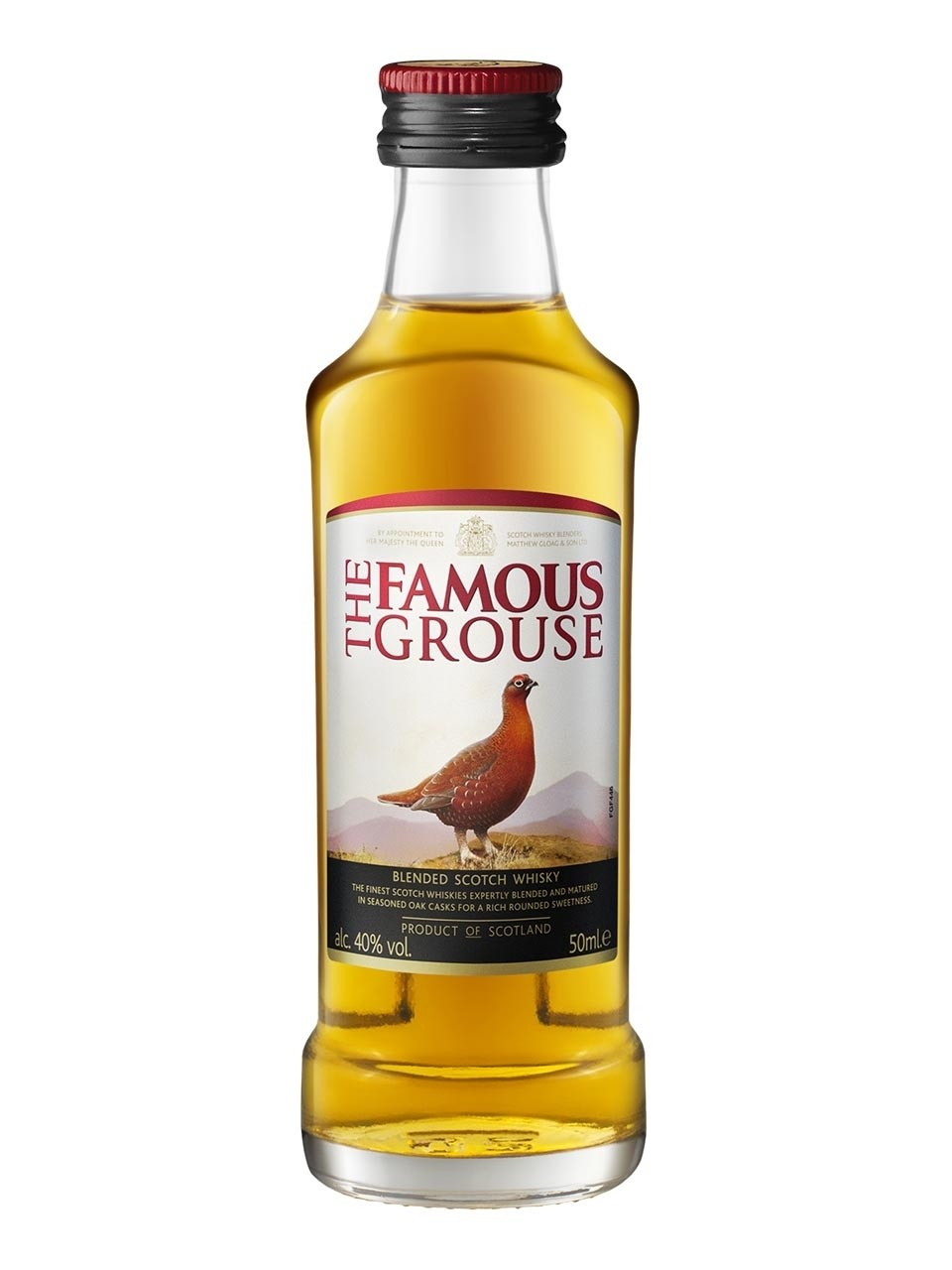 Famous Grouse, miniatura, 40%, 0,05l