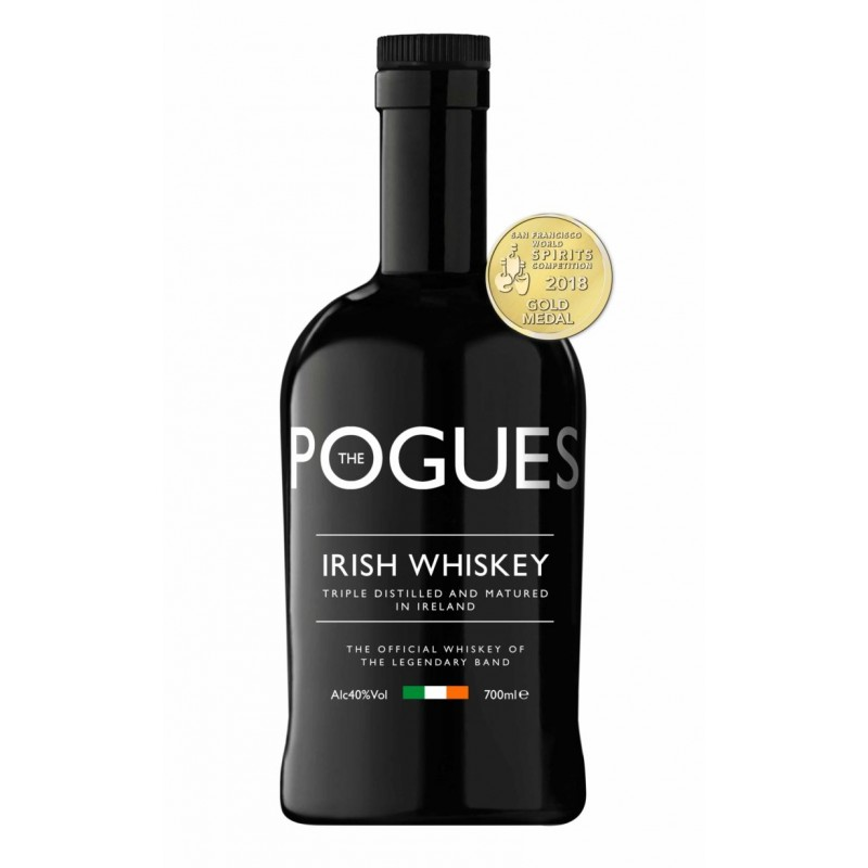 The Pogues Irish Whiskey of The Legendary Band, 40%, 0,7l
