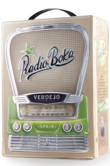 Hammeken Cellars Radio Boka - Verdejo, bag in box, 3l