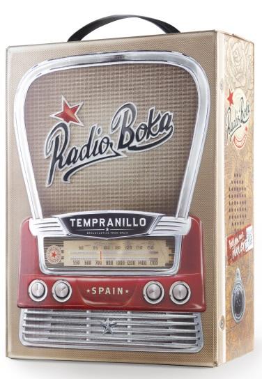 Hammeken Cellars Radio Boca - Tempranillo, bag in box, 3l
