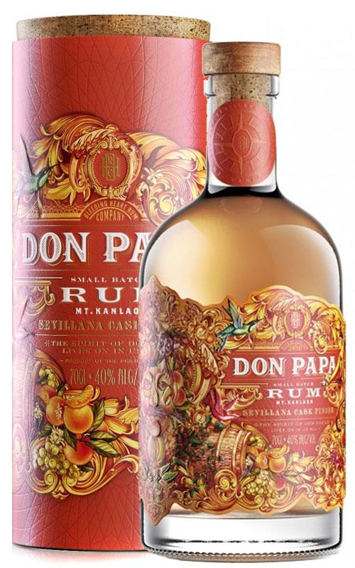Don Papa Rum Don Papa Sevillana, Gift Box, 40%, 0,7l