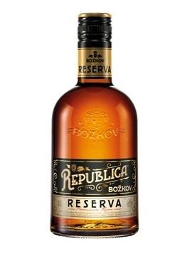 Rum Božkov Republica Reserva, 40%, 0,5l