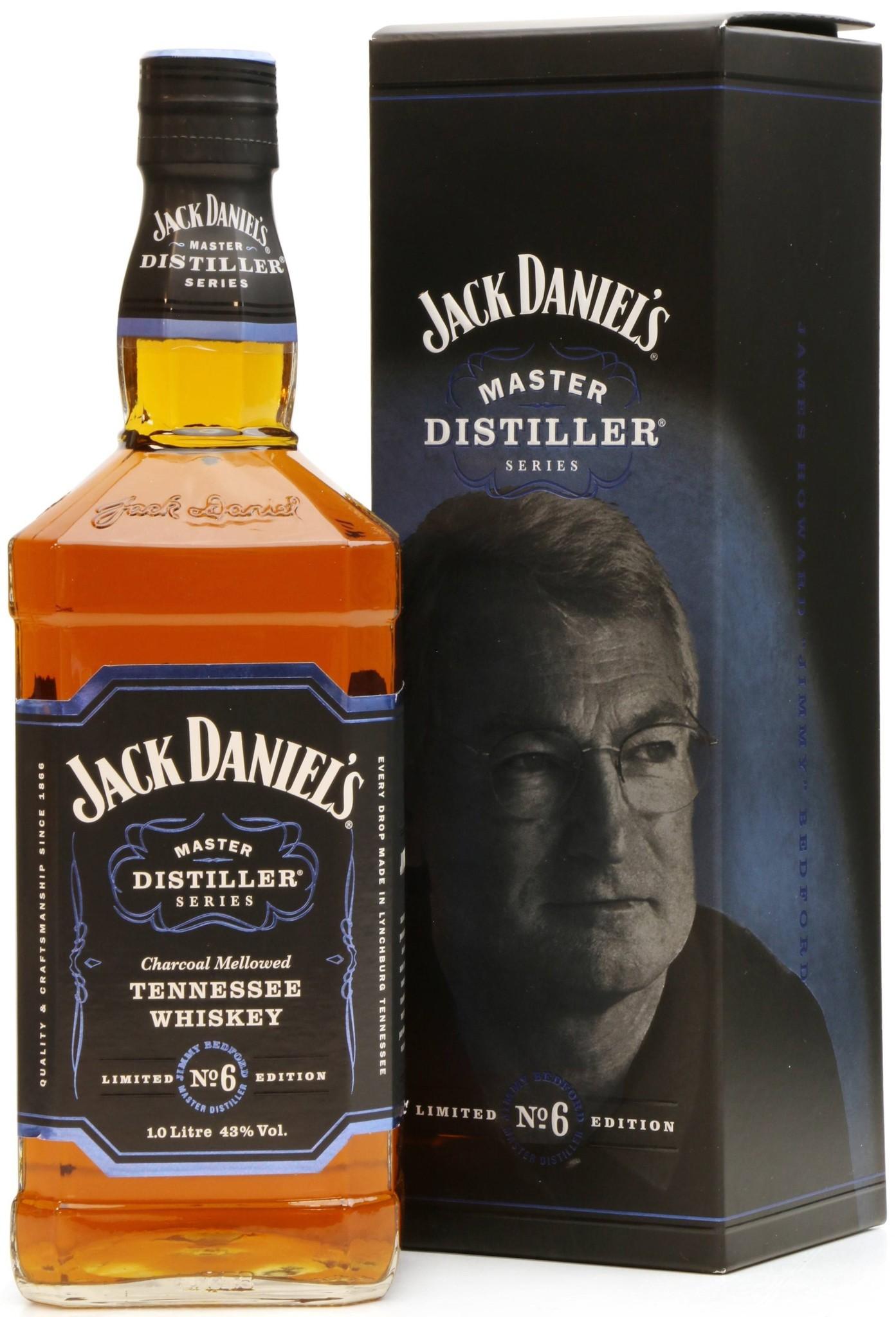 Jack Daniel's Tennessee whiskey Jack Daniels Master Distiller No.6, 43%, 0,7l