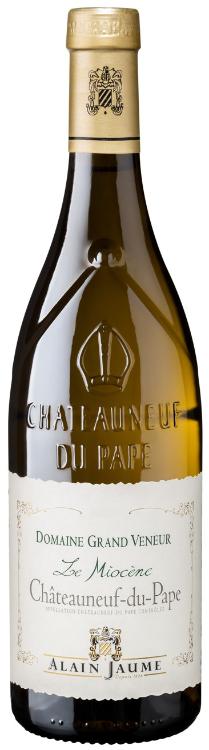 Châteauneuf-du-Pape Domaine Grand Veneur Le Miocene BLANC 2018, Alain Jaume, 0,75l