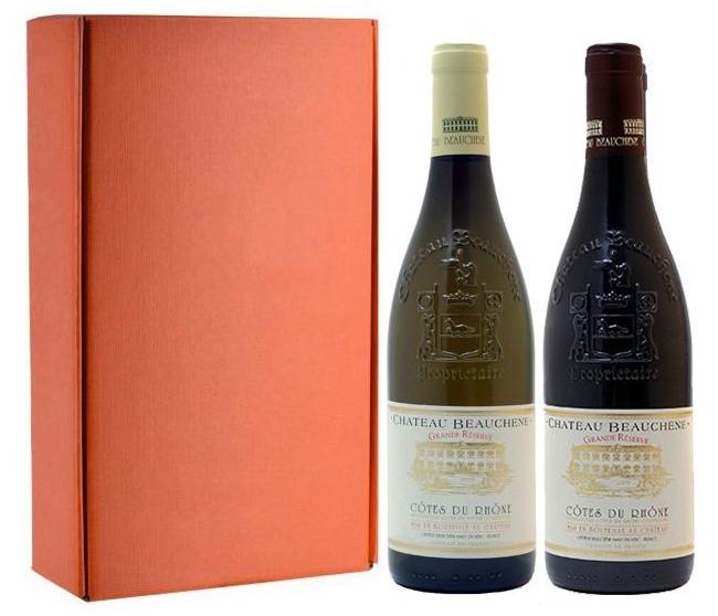 Sada 2 vín - Cotes du Rhone, Chateau Beauchene, 2x0,75l