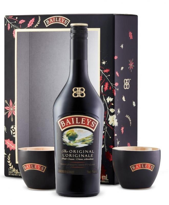 Bailey&Co. Baileys + 2 hrníčky, 17%, 0,7l
