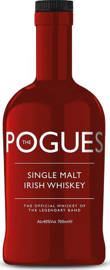 The Pogues Irish Single Malt Whiskey of The Legendary Band, 40%, 0,7l