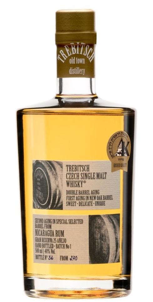 TREBITSCH old town distillery TREBITSCH Double barrel aging Nicaragua Rum, 40%, 0,5l