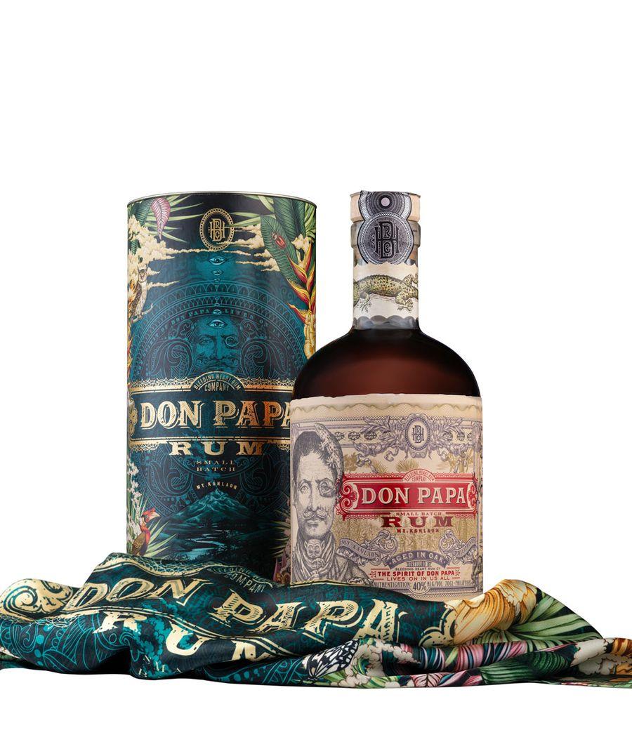 Don Papa Rum Don Papa COSMIC + šátek, 40%, 0,7l