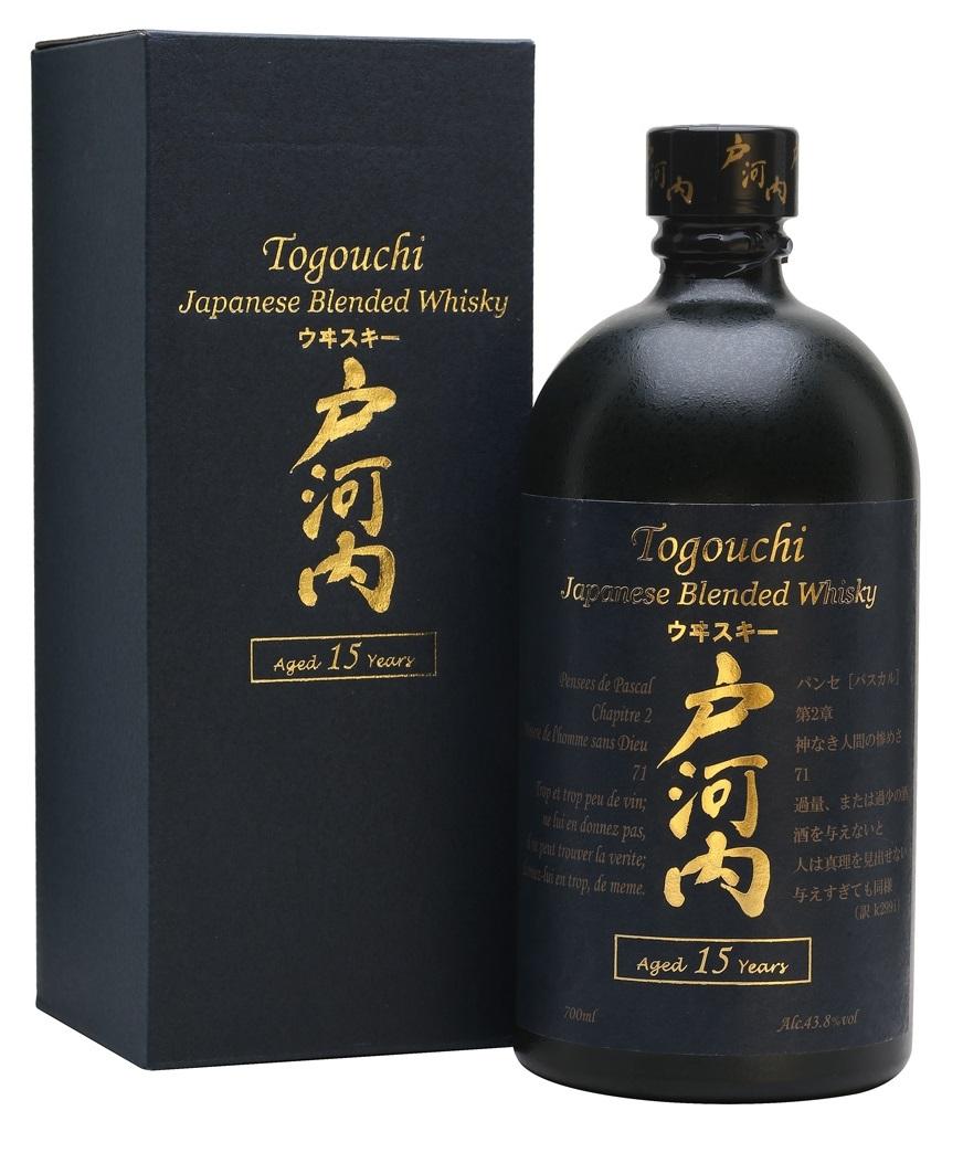 Togouchi 15 YO, Gift box, 40%, 0,7l
