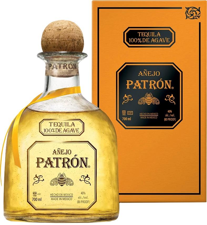Patrón Anejo 100% Agave Tequila, 40%, 0,7l