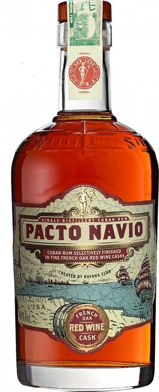 Havana Club Pacto Navio French Oak Red Wine Cask, 40%, 0,7l
