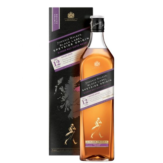 Johnnie Walker Black Label SPEYSIDE Origin, 42%, 1l