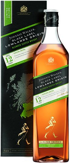 Johnnie Walker Black Label LOWLANDS Origin, 42%, 1l