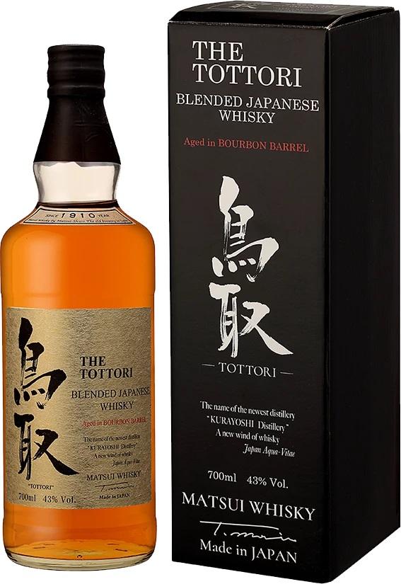 Matsui Whisky Tottori Japanese whisky, 43%, 0,7l