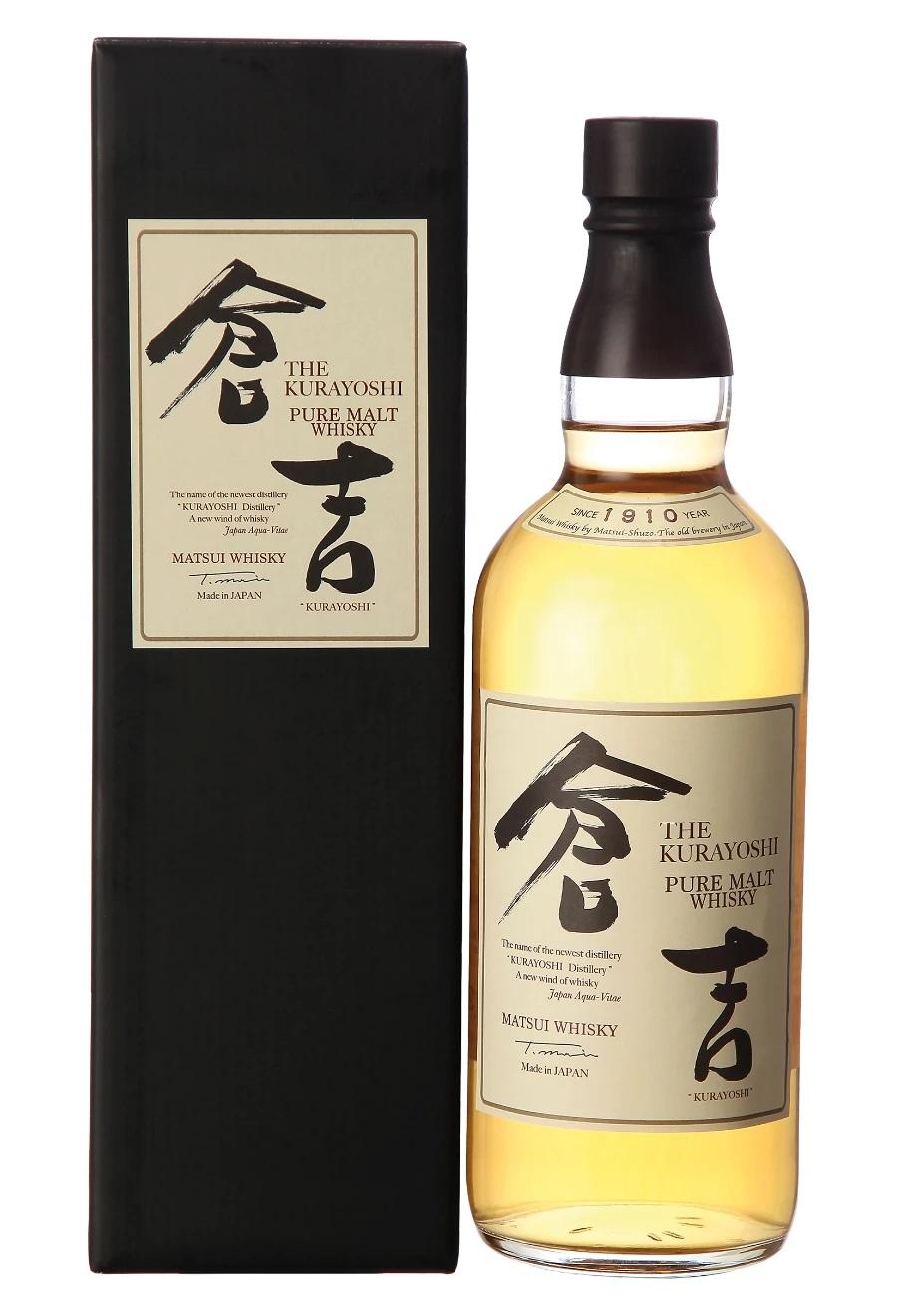 Matsui Whisky Kurayoshi Pure Malt Japanese Whisky, 43%, 0,7l
