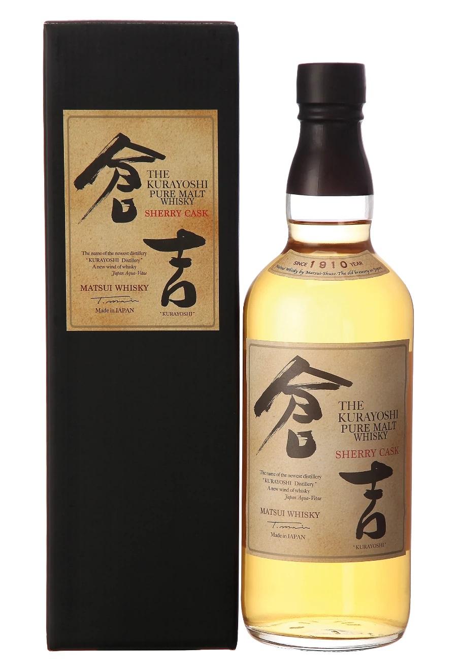 Matsui Whisky Kurayoshi Sherry Cask Japanese Whisky, 43%, 0,7l