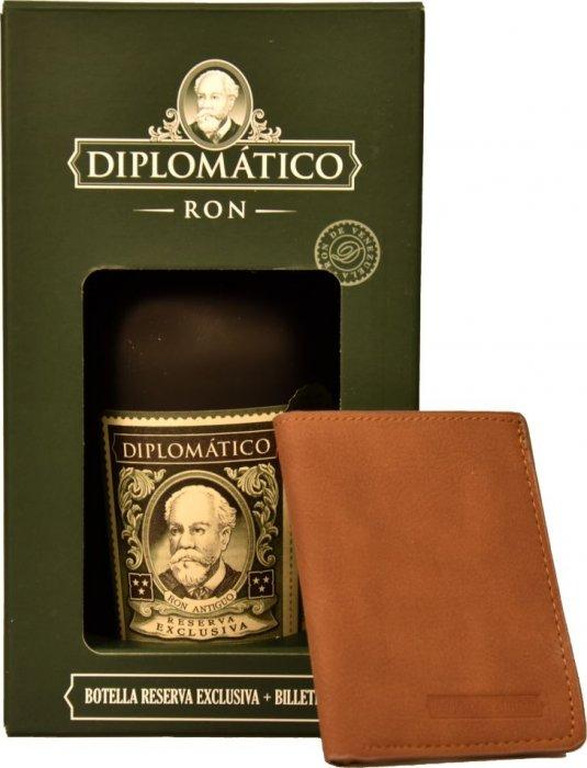 Rumy Diplomático Diplomatico Reserva Exclusiva, 12 YO + PENĚŽENKA, 40%, 0,7l