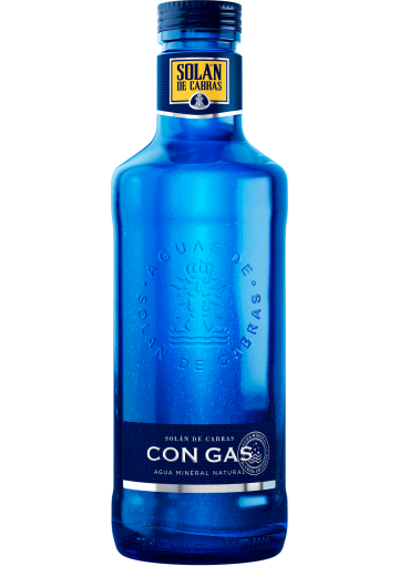 Solan de Cabras, minerální voda PERLIVÁ, SKLO, 0,75l