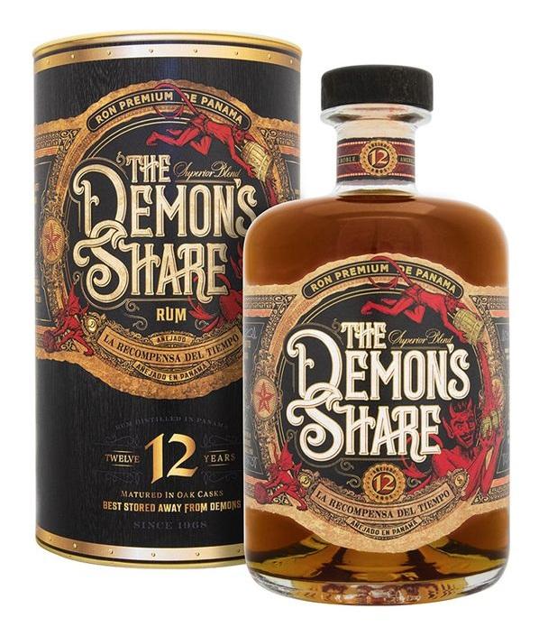 Bodegas de America, S.A. Demon's Share 12 YO, 41%, 0,7l