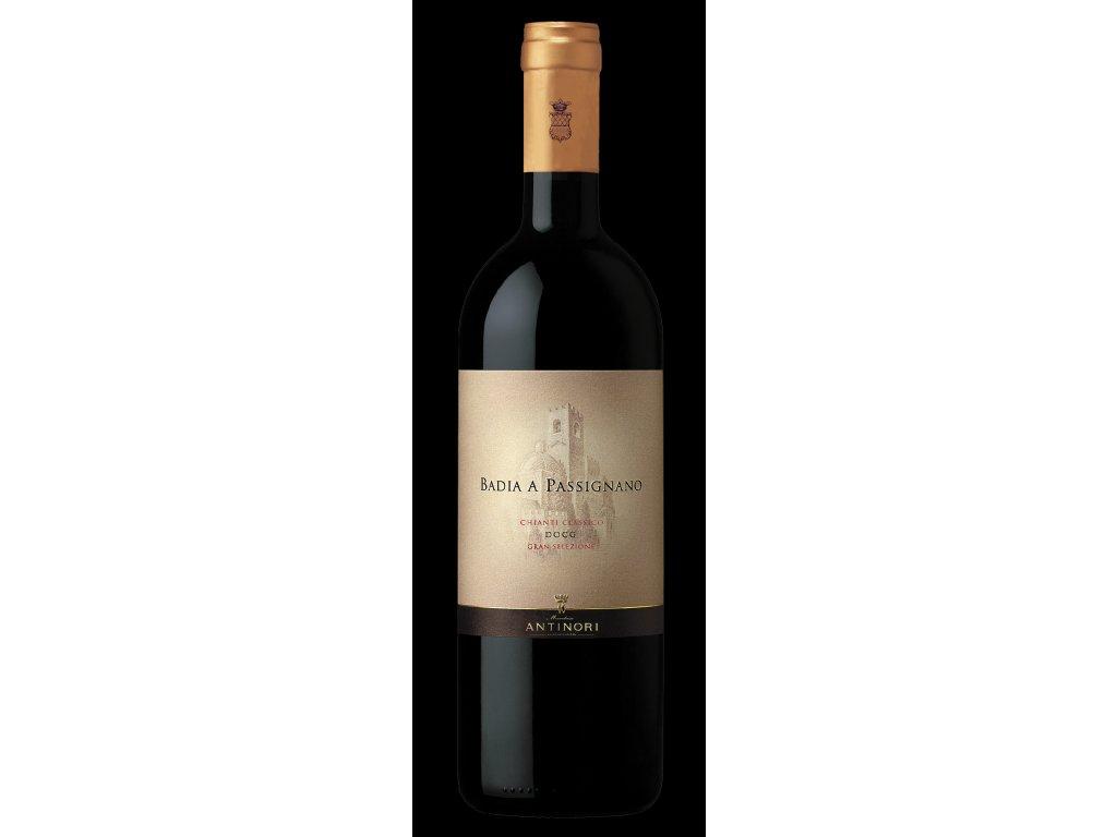 Bottiglia 0038 Badia a Passignano gran selezione VECCHIO