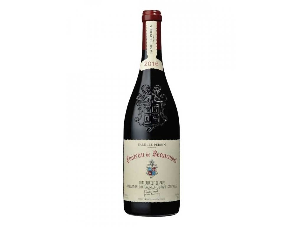 641775 ch beaucastel cdp bottle