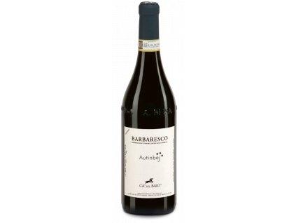 Barbaresco Autinbej bottiglia Cadelbaio 275x848