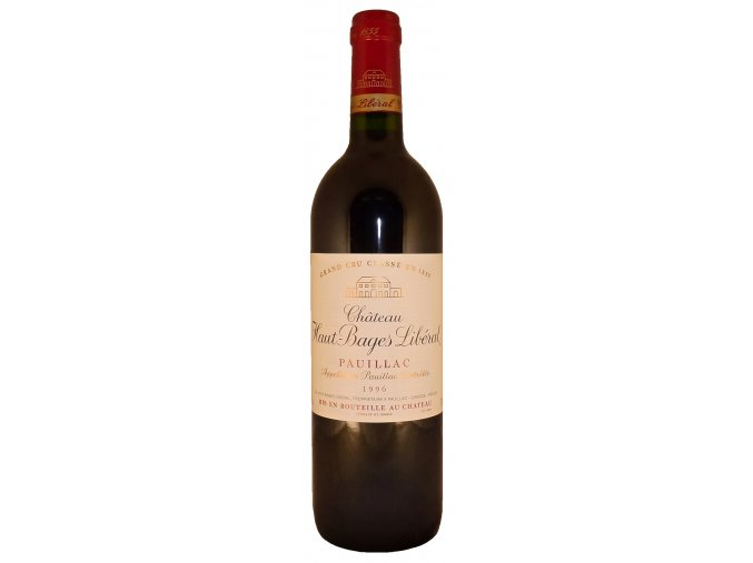 Ch. Haut Bages Liberal 1996