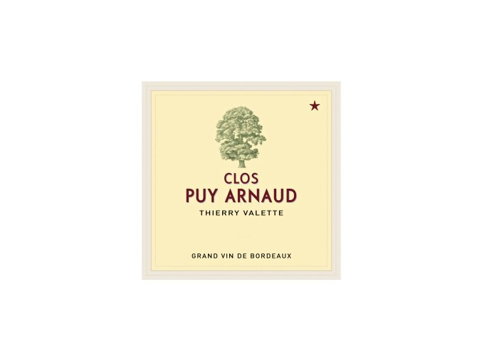 Clos Puy Arnaud 2014  Clos Puy Arnaud