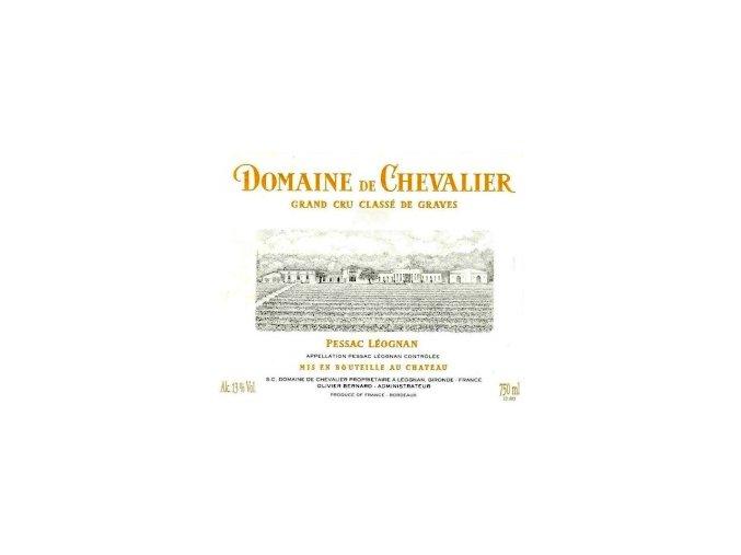 Domaine de Chevalier blanc 2015  Domaine de Chevalier blanc