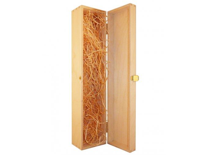 Dřevěný box na 1 malou láhev - pant
